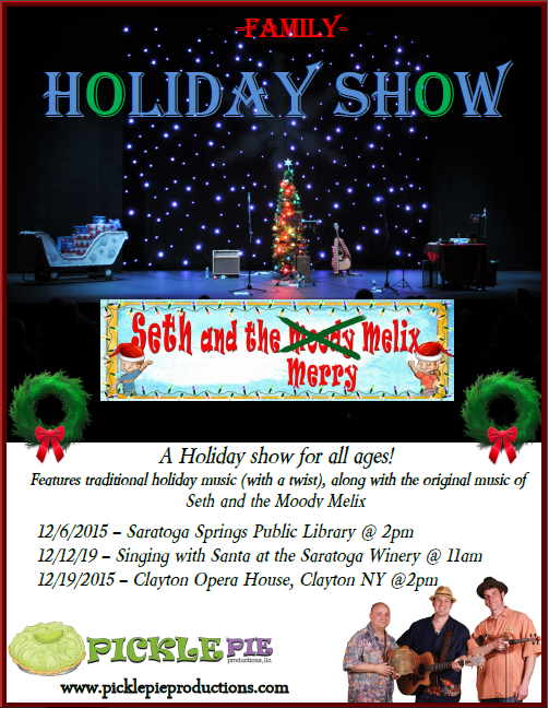2015 holiday shows